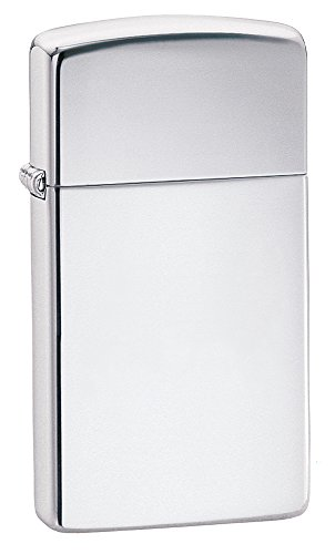 Pocket Chrome Lighter - Zippo Slim High Polish Chrome Pocket Lighter