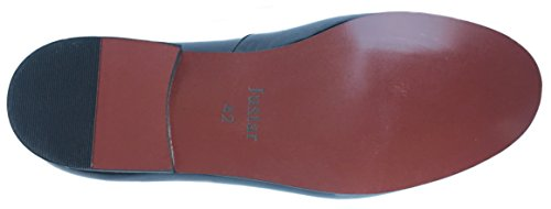963d047fd5de7 Justar Men's Black Patent Leather Loafers Prom Dress Shoes Tuxedo Bowtie  Slip on Smoking Slippers Flats (11 D(M) US)
