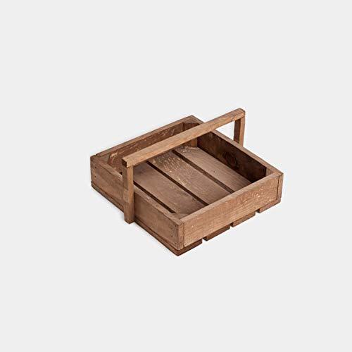 Rebajas oferta Cestas, cajas, cajones, de madera de pino ...