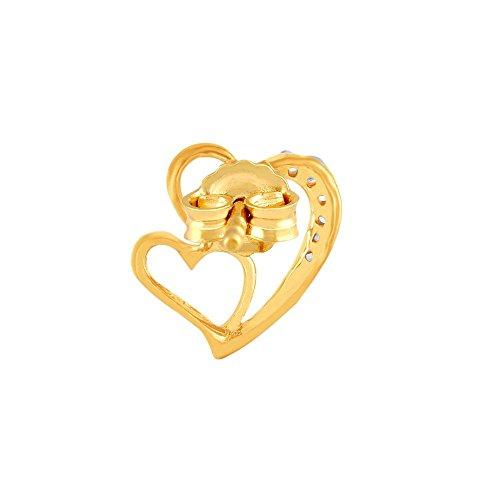 Giantti Diamant pour femme Boucles d'oreilles à tige (0,072CT, VS Clarté, Gh-colour)