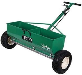 LESCO 36-Inch Push Drop Spreader