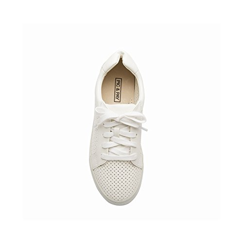 Pic / Pay Sneakers Donna Alana - Sneakers Perforate Traforate Bianche Perforate