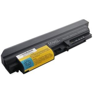 DENAQ 6-Cell 58Whr/5400mAh Li-Ion Laptop Battery for IBM THINKPAD T400 - 14.1, IBM THINKPAD R61-14.1, IBM THINKPAD R61E - 14.1, IBM THINKPAD R61I-14.1, IBM THINKPAD R400 14.1, IBM THINKPAD T61 - Ion Laptop 5400mah Li Battery