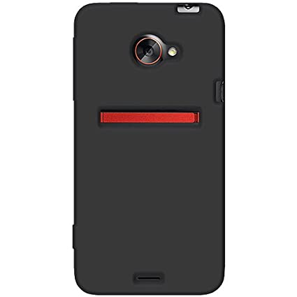 buy online 291b6 51ded Amzer AMZ93691 Silicone Jelly Skin Fit Phone Case Cover for HTC EVO 4G LTE  and Sprint HTC EVO 4G LTE - 1 Pack - Retail Packaging - Black