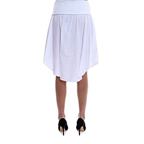 Jupe 4W485009P7100 ALEXANDER WANG Femme Blanc Coton gqgPwa4z