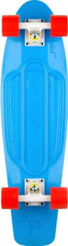 "Penny Penny 22"" Blue/White/Red Skateboard"