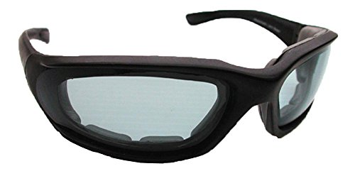 Smoke Polycarbonate Lens Foam Padded - Sunglasses Comfort Solar