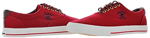 Club Red Shoes Mens Polo Boat Sneakers Hills Beverly Canvas Fashion RqE04Bw