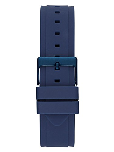 GUESS Women's Stainless Steel Silicone Casual Watch, Color Rose Gold-Tone/Rigor Blue (Model: U0571L1) by GUESS (Image #2)