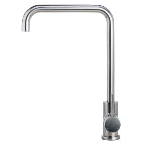 Miseno MK004 Kitchen / Prep Faucet (Solid T304 Stainless Steel), Brushed Stainless