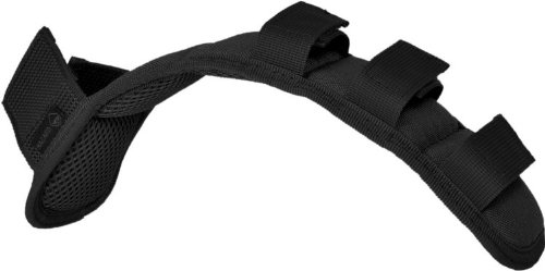 Hazard 4 Deluxe Shoulder Strap Pad with Molle Top, Black