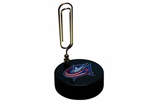 (EBINGERS PLACE Columbus Blue Jackets Basic Series Hockey Puck Note Holder)