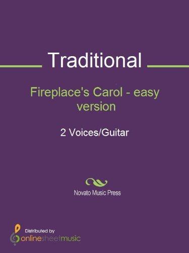 Fireplace's Carol - easy version - Score