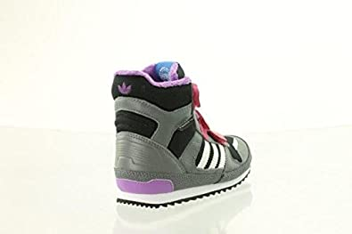 Adidas ZX Winter CF I Kinder Boots Schuhe black blast pink