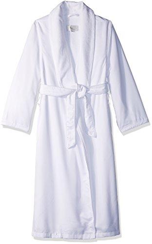 - Kassatex SRK-148-W Spa Robe, White (Small/Medium)
