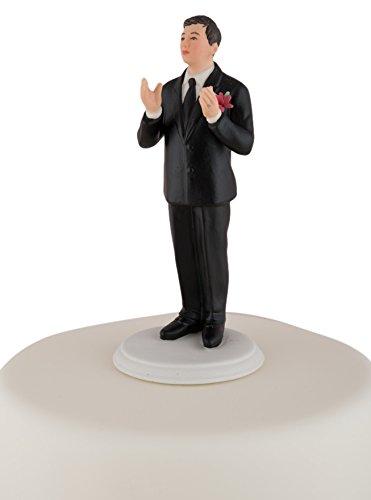 - Weddingstar True Romance Asian Groom Cake Topper, Black