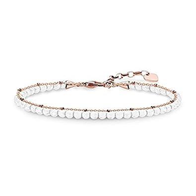 Thomas Sabo bracelet white A1716-325-14-L19v Thomas Sabo knN8o8
