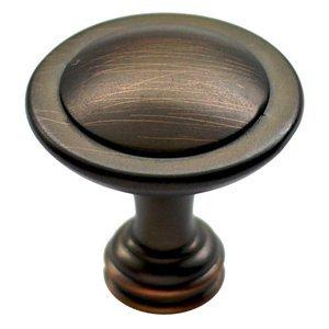 allen + roth D2051-31.75ABZ 1.25' Davis Cabinet Knob 1.25' Bronze Cabinet Knob