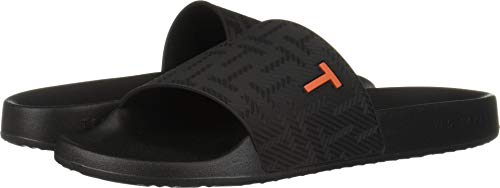 Ted Baker Men's Mastal Slide Sandal Black 8 Regular US ()