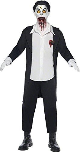 Smiffys Haemon Living Dead Doll Vampire Adult Halloween Costume Small ()