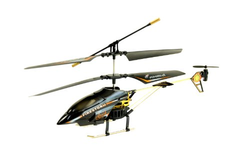 Amewi 25064 - Firestorm GOLD, Indoor Helikopter (GYRO, Turbo-Funktion und LiPo-Akku)