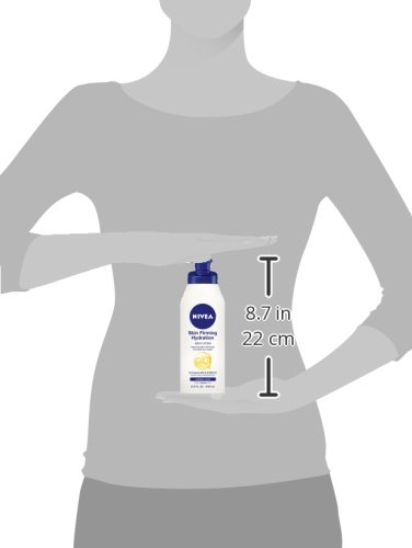 NIVEA Skin Firming Hydration Body Lotion, 13.5 Ounce