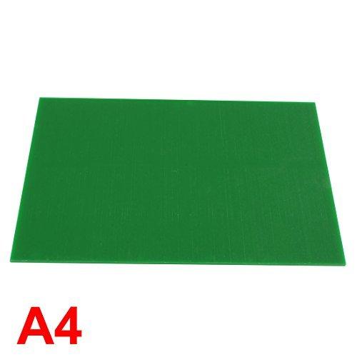 Plastique Vert acrylique Plexiglas feuille A4 Taille 210mm x 297mm x 3mm