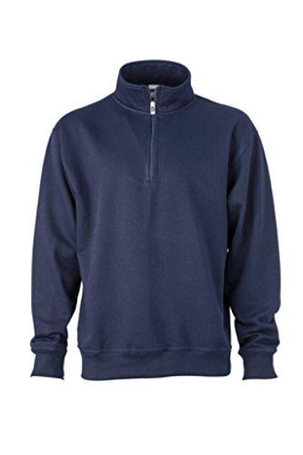 Montant shirt Nicholson Marine James Avec Col Sweat amp; Zip Et wHCPtqY