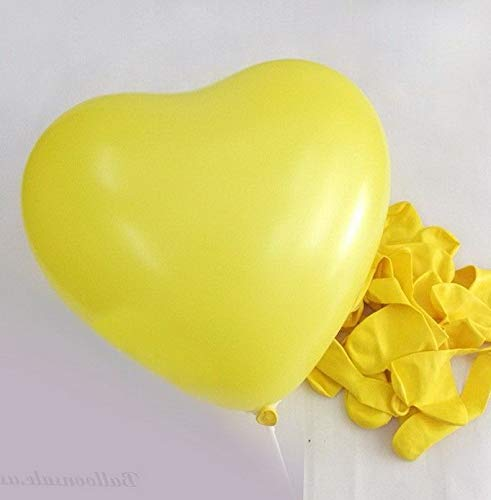 Mikash 10 Color Heart Shape Latex Balloons Wedding Party Decoration Helium | Model WDDNGDCRTN - 22536 | 5 -
