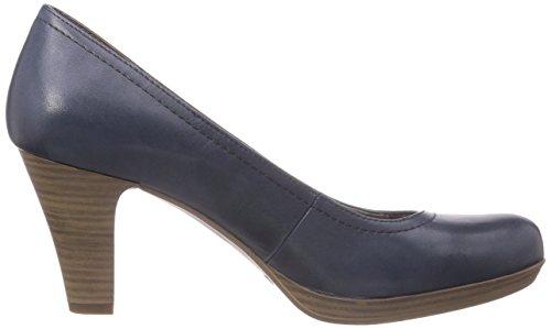 Tamaris Tamaris - Plataforma de cuero mujer azul - Blau (NAVY 805)