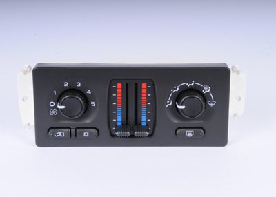 ACDelco 15-73502 GM Original Equipment Heating and Air Conditioning Control Panel with Rear Window Defogger Switch