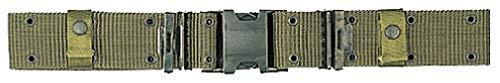 BlackC Sport Olive Drab Marine Corps Design Quick Release Pistol Belt ()