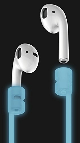 elago AirPods Strap [Nightglow Blue] - [Compact][Lightweight][Ideal Length] – for Apple AirPods