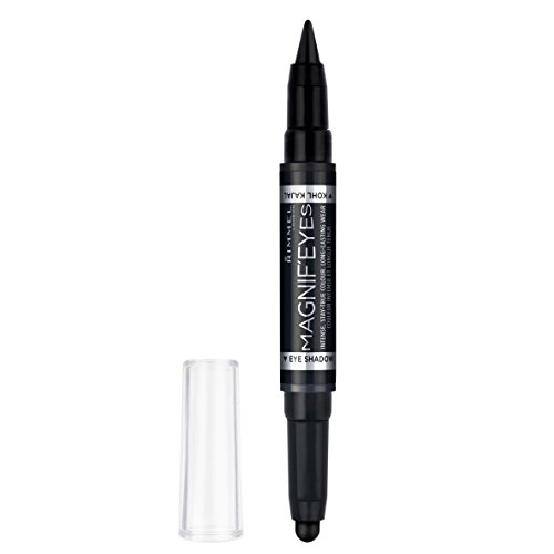 Rimmel Magnifeyes Double Ended Shadow and Eye Liner, Back To Blacks, 0.05 Ounce Double Ended Eye