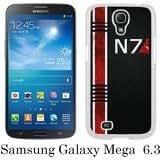 Mass Effect N7 White Samsung Galaxy Mega 6.3 i9200 i9205 Shell Case