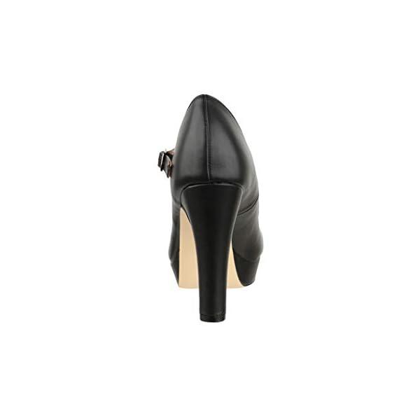 Elara Chunkyrayan - Scarpe da donna con tacco alto, stile vintage 5