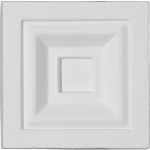 (Ekena Millwork PB03X03X01ER  3 3/4-Inch W x 3 3/4-Inch H x 1 1/8-Inch P Eris Plinth Block)