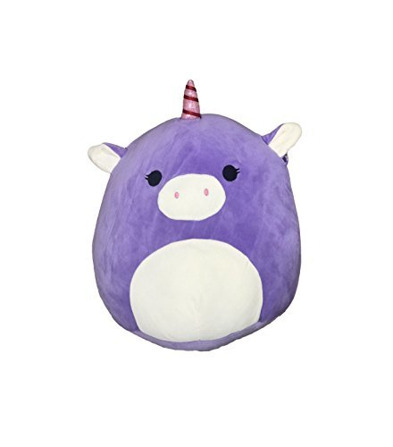 Kellytoy Squishmallow 8 Inch Astrid the Purple Unicorn Super Soft Plush Toy Pillow Pet