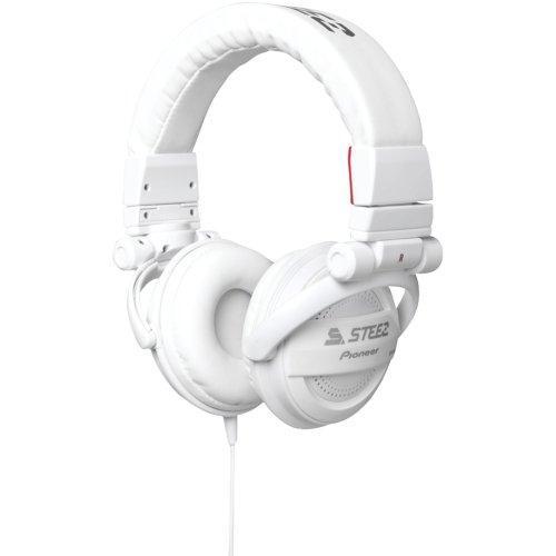 Pioneer SE-D10MT-W Steez Dubstep Headphones with Microphone
