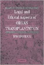 Download gratuito di audiolibri in francese Legal and Ethical Aspects of Organ Transplantation PDF