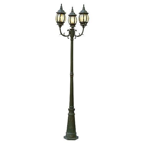Outdoor light poles amazon trans globe lighting 4090 bk outdoor parkway 915 pole light black mozeypictures Choice Image