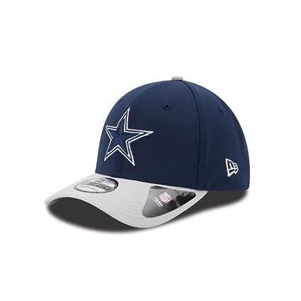 Amazon.com   Dallas Cowboys New Era Clean Hit 39THIRTY Flex Fit Hat ... 10ecd3b75