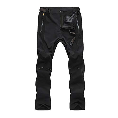 Uomo Qzhe Uomo Da Black Trekking Impermeabili Pantaloni rqqA0xwtf