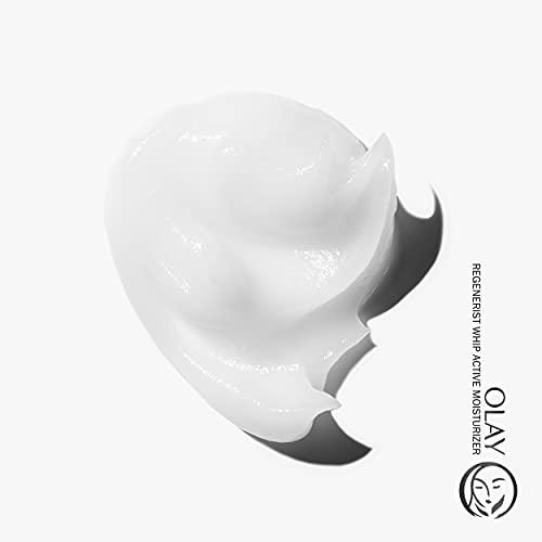 Olay Regenerist Night Recovery Cream Face Moisturizer, 1.7 Oz + Whip Face Moisturizer Travel/Trial Size Gift Set