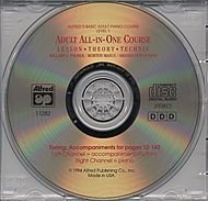 Alfred's Adult All-in-One Piano Course - Level 1 (CD) by Alfred Music