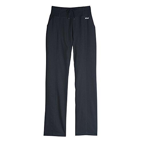 Grey's Anatomy Active Women's 4276 Yoga Knit Waist Scrub Pant- Black- Medium Petite
