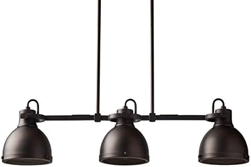 Amazon Brand Stone Beam Emmons Triple Ceiling Mount Pendant Light Chandelier