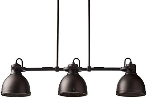 Amazon Brand Stone Beam Emmons Triple Ceiling Mount Pendant Light Chandelier