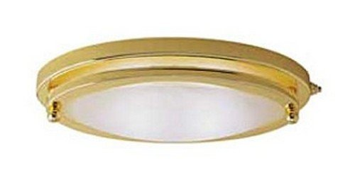 RV Trailer 10 Low Profile Light Polished Brass Gustafson Lighting (Profile Polished Brass)