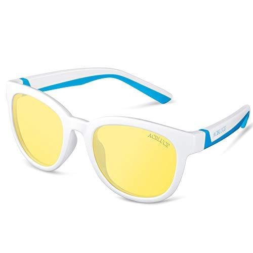 Kids Blue Light Blocking Glasses Protect Eyesight Reading Computer Gaming for Boys Girls Children Glasses